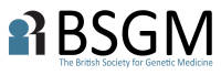 logo for British Society for Genetic Medicine